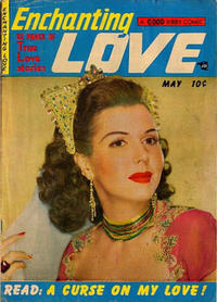 Cover Thumbnail for Enchanting Love (Kirby Publishing Co., 1949 series) #5