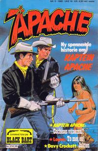 Cover Thumbnail for Apache (Semic, 1980 series) #5/1980