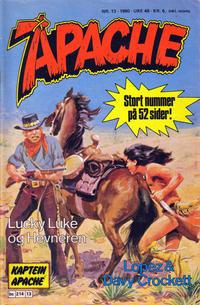 Cover Thumbnail for Apache (Semic, 1980 series) #13/1980