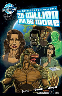 Cover Thumbnail for 20 Million Miles More (Bluewater / Storm / Stormfront / Tidalwave, 2007 series) #1 [Cover C - Graham Cracker Exclusive Cover]