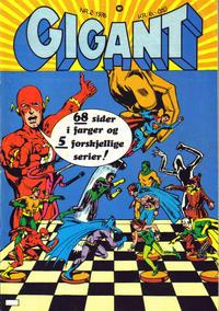 Cover Thumbnail for Gigant (Illustrerte Klassikere / Williams Forlag, 1969 series) #2/1976