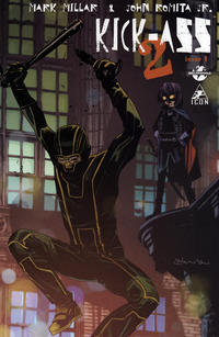Cover Thumbnail for Kick-Ass 2 (Marvel, 2010 series) #1 [Forbidden Planet/Ultimate Comics Tommy Lee Edwards Variant]