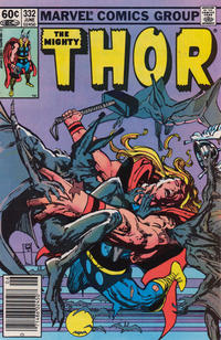 Cover Thumbnail for Thor (Marvel, 1966 series) #332 [Newsstand]