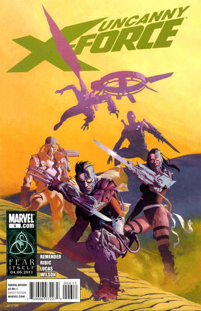 Cover for Uncanny X-Force (Marvel, 2010 series) #6
