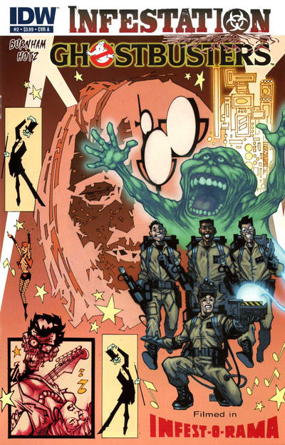 Cover for Ghostbusters: Infestation (IDW, 2011 series) #2 [Cover B]