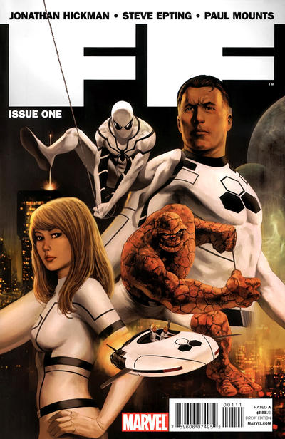 Cover for FF (Marvel, 2011 series) #1 [Daniel Acuna]