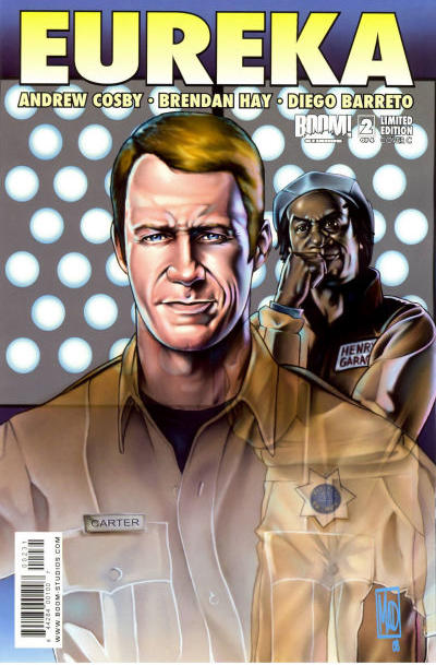Cover for Eureka (Boom! Studios, 2008 series) #2 [Cover A]