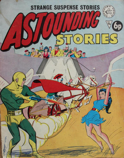 Cover for Astounding Stories (Alan Class, 1966 series) #96