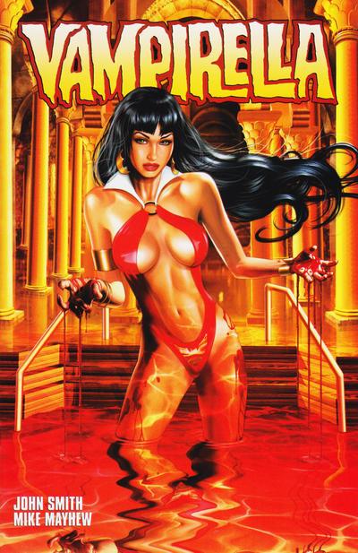 Cover for Vampirella (Harris Comics, 2001 series) #4 [Mike Mayhew Cover]