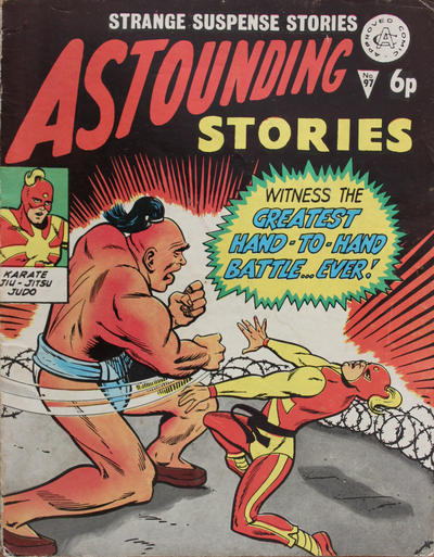 Cover for Astounding Stories (Alan Class, 1966 series) #97