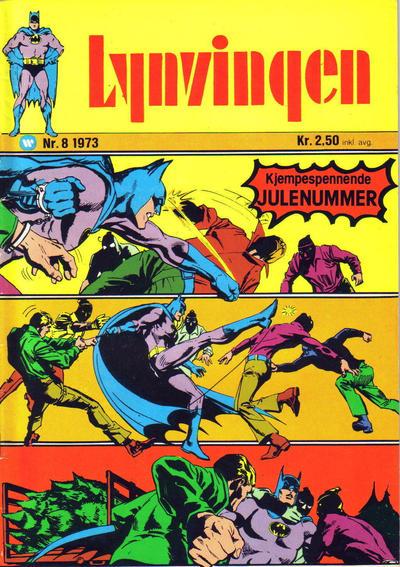 Cover for Lynvingen (Illustrerte Klassikere / Williams Forlag, 1969 series) #8/1973