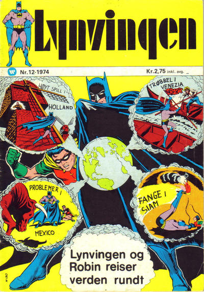 Cover for Lynvingen (Illustrerte Klassikere / Williams Forlag, 1969 series) #12/1974
