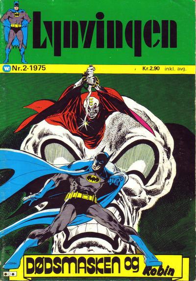 Cover for Lynvingen (Illustrerte Klassikere / Williams Forlag, 1969 series) #2/1975
