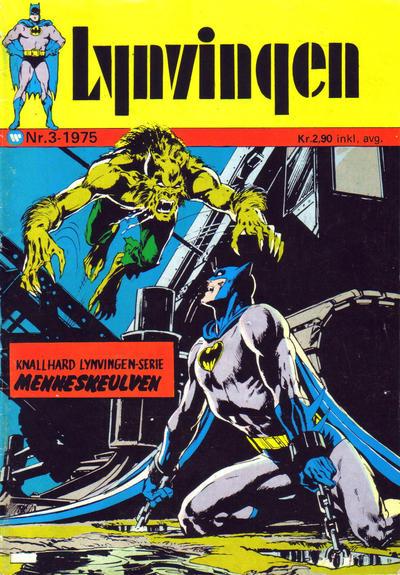 Cover for Lynvingen (Illustrerte Klassikere / Williams Forlag, 1969 series) #3/1975