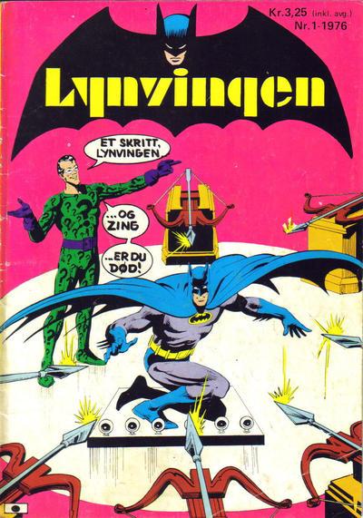 Cover for Lynvingen (Illustrerte Klassikere / Williams Forlag, 1969 series) #1/1976