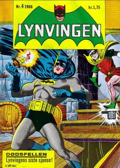 Cover for Lynvingen (Serieforlaget / Se-Bladene / Stabenfeldt, 1966 series) #4/1966