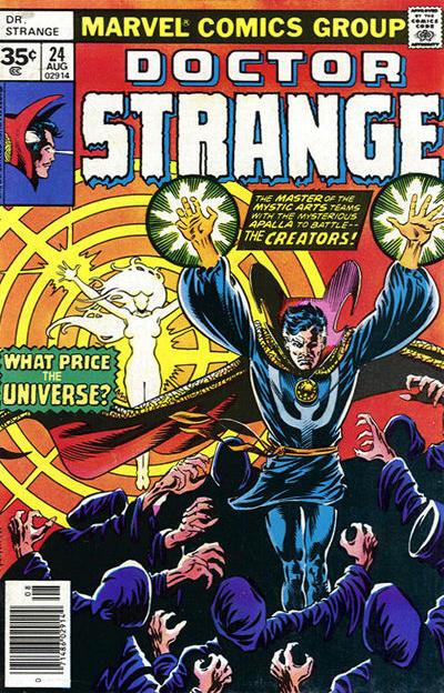 Cover for Doctor Strange (Marvel, 1974 series) #24 [30¢ Cover Price]
