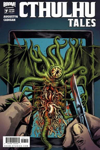 Cover for Cthulhu Tales (Boom! Studios, 2008 series) #7 [Cover B]