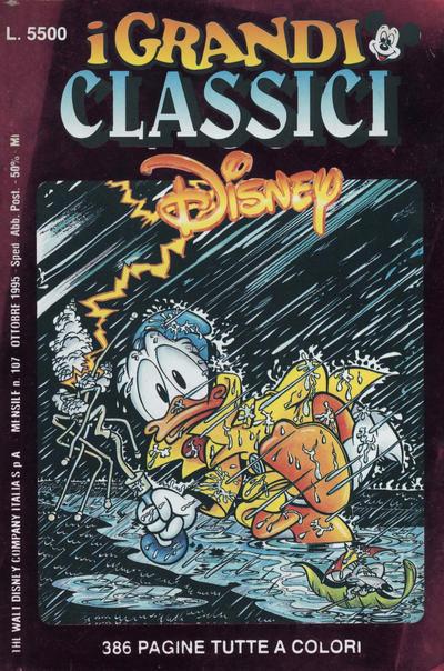 Cover for I Grandi Classici Disney (The Walt Disney Company Italia, 1988 series) #107