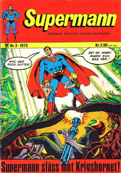 Cover for Supermann (Illustrerte Klassikere / Williams Forlag, 1969 series) #3/1973