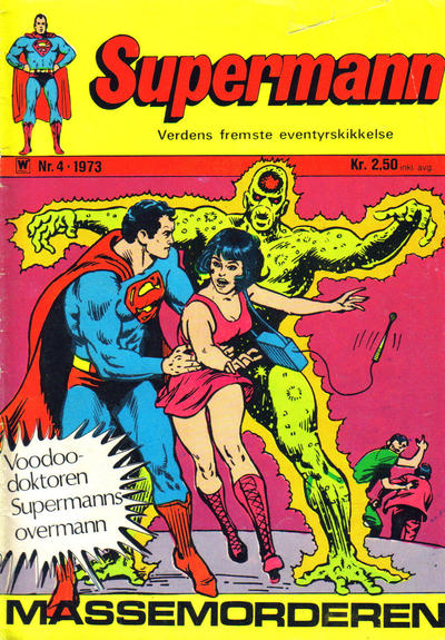 Cover for Supermann (Illustrerte Klassikere / Williams Forlag, 1969 series) #4/1973