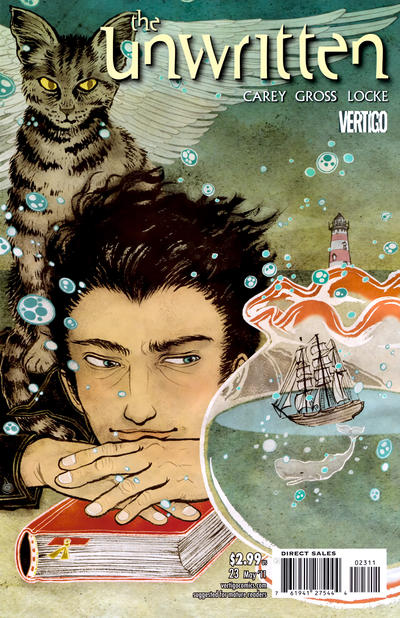 Cover for The Unwritten (DC, 2009 series) #23