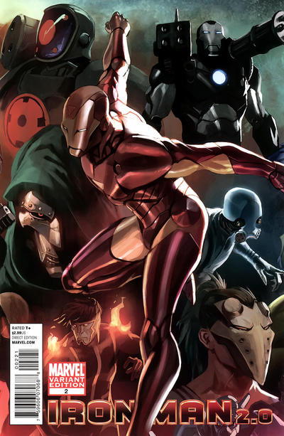 Cover for Iron Man 2.0 (Marvel, 2011 series) #2