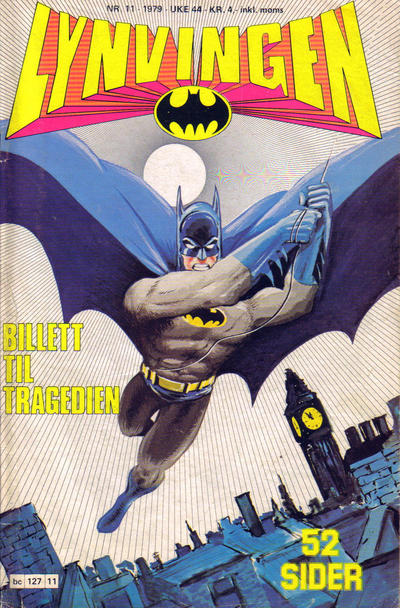 Cover for Lynvingen (Semic, 1977 series) #11/1979
