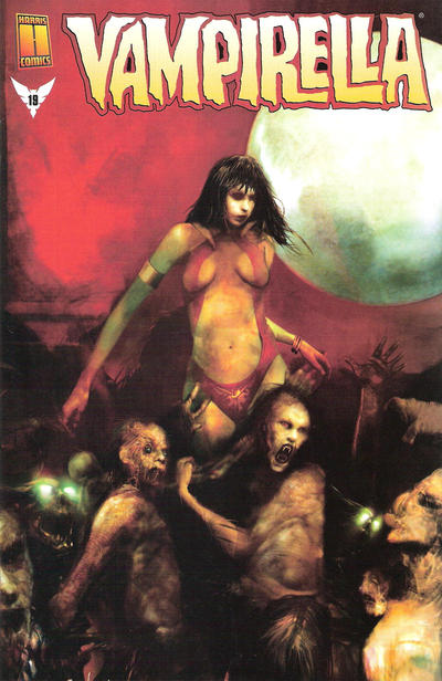 Cover for Vampirella (Harris Comics, 2001 series) #19 [Christopher Shy Cover]