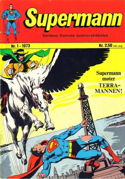 Cover for Supermann (Illustrerte Klassikere / Williams Forlag, 1969 series) #1/1973