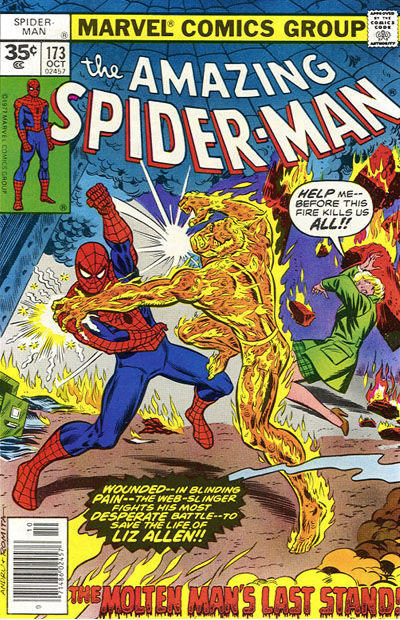 Cover for The Amazing Spider-Man (Marvel, 1963 series) #173 [35¢ Price Variant]