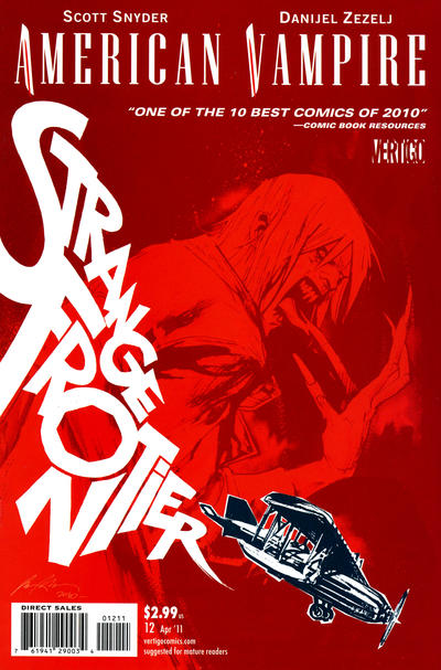 Cover for American Vampire (DC, 2010 series) #12