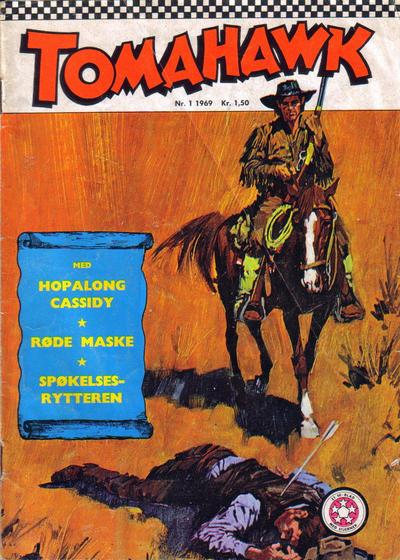 Cover for Tomahawk (Serieforlaget / Se-Bladene / Stabenfeldt, 1965 series) #1/1969