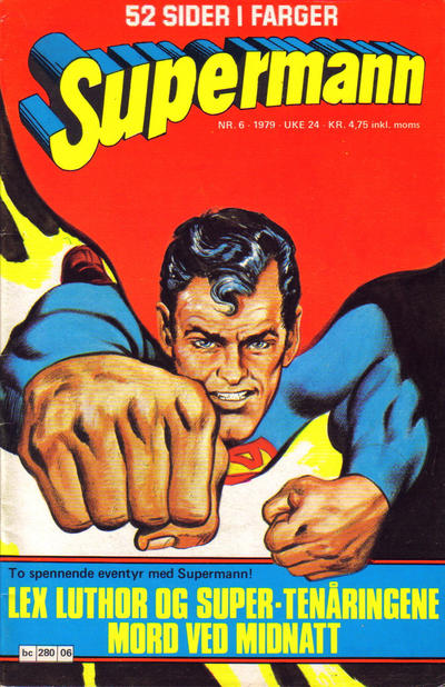 Cover for Supermann (Semic, 1977 series) #6/1979