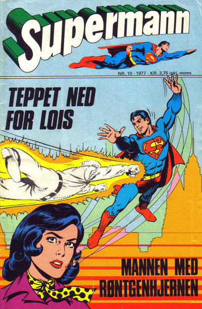 Cover for Supermann (Semic, 1977 series) #10/1977