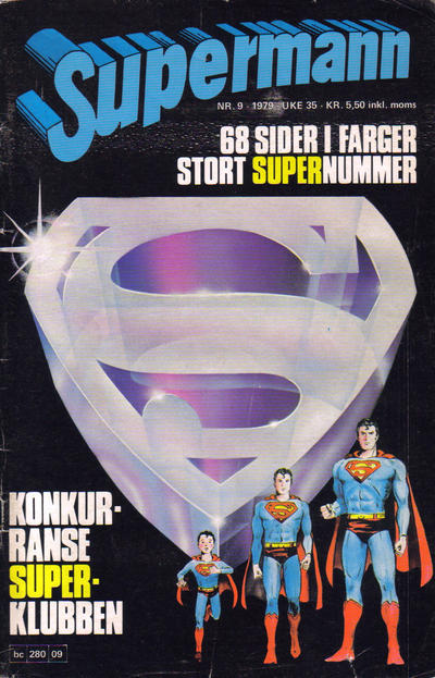 Cover for Supermann (Semic, 1977 series) #9/1979