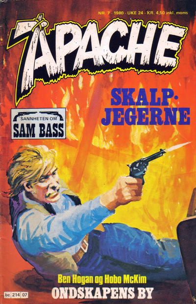 Cover for Apache (Semic, 1980 series) #7/1980