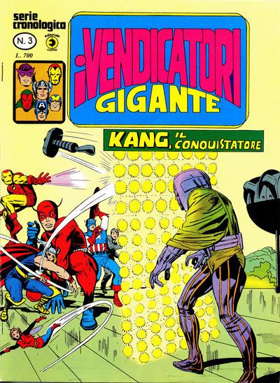 Cover for I Vendicatori Gigante (Editoriale Corno, 1980 series) #3