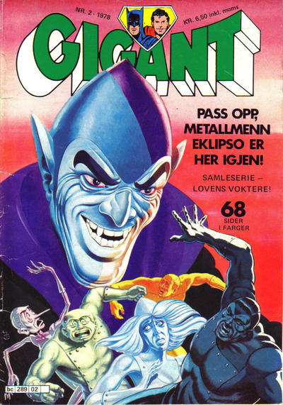 Cover for Gigant (Semic, 1977 series) #2/1978