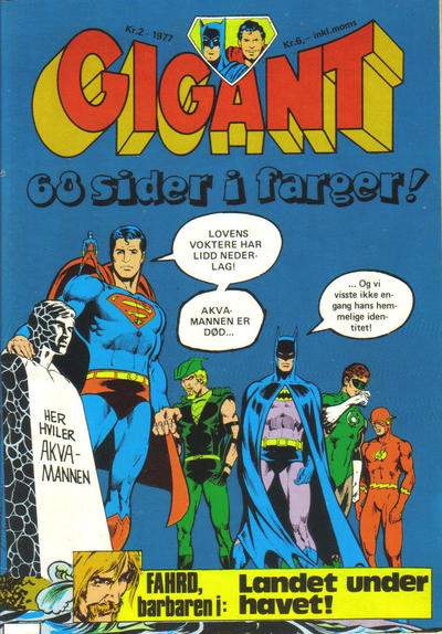 Cover for Gigant (Semic, 1977 series) #2/1977