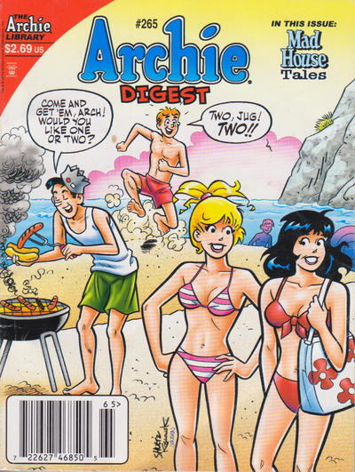 Cover for Archie Comics Digest (Archie, 1973 series) #265 [Direct]