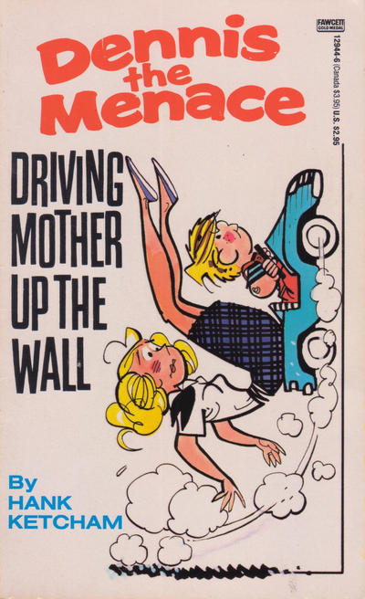 Cover for Driving Mother Up the Wall (Gold Medal Books, 1979 series) #12944-6