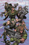 Cover for Team 7 (Image, 1994 series) #1 [WildStorm 1994 Puzzle Cover]