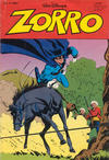 Cover for Zorro (Egmont Ehapa, 1979 series) #1/1981