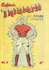 Cover for Captain Triumph Comics (K. G. Murray, 1947 series) #8