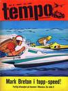 Cover for Tempo (Hjemmet / Egmont, 1966 series) #5/1967