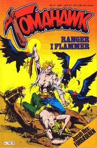 Cover Thumbnail for Tomahawk (Semic, 1977 series) #6/1982