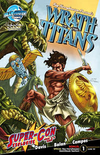 Cover Thumbnail for Wrath of the Titans (Bluewater / Storm / Stormfront / Tidalwave, 2007 series) #1 [Super Con Exclusive]