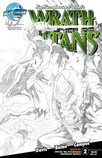 Cover Thumbnail for Wrath of the Titans (Bluewater / Storm / Stormfront / Tidalwave, 2007 series) #2 [Nadir Balen Sketch Cover]