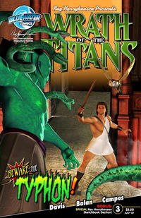 Cover Thumbnail for Wrath of the Titans (Bluewater Productions, 2007 series) #3 [Unknown Variant]